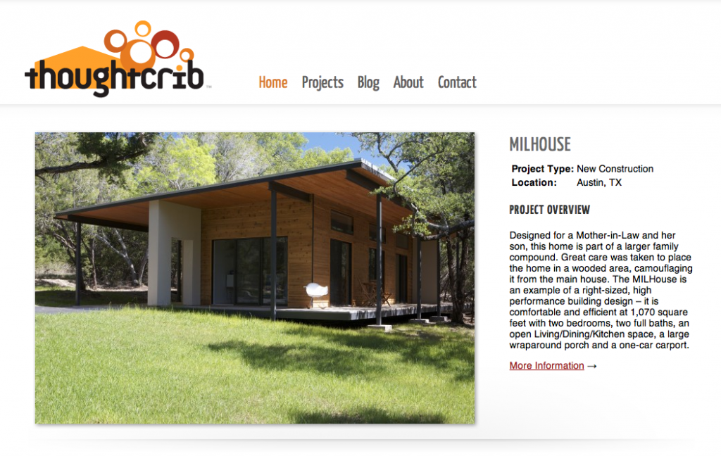 Announcing A New Website For Thoughtcrib An Award