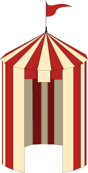 Tent graphic